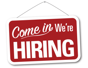 we are hiring 300x232