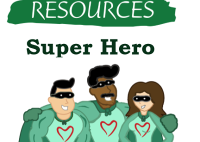 Super hero Living Resources