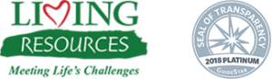 Living Resources logo seal