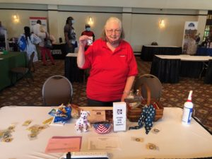 Susan Wells shares Stars For Our Troops thanking those that served and are serving